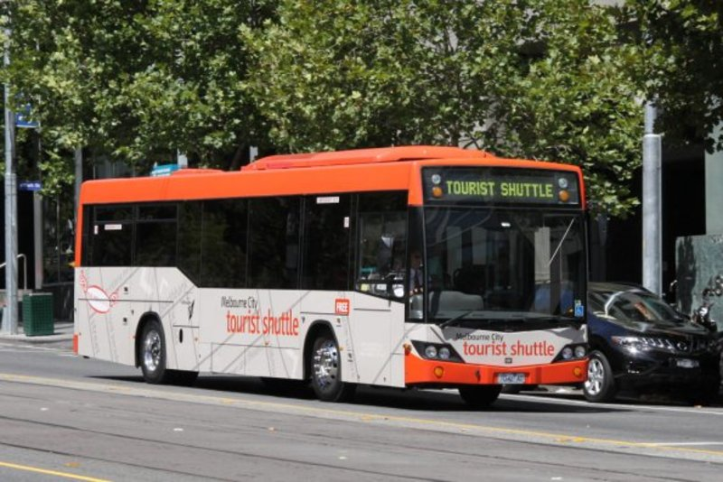visitor, shuttle, tourist  - Been on the Melbourne Visitor Shuttle?